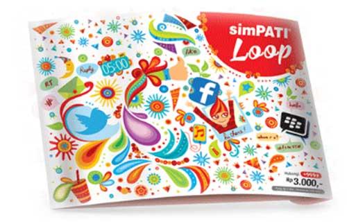 Cara Daftar Paket Internet Simpati Loop 20 Ribu