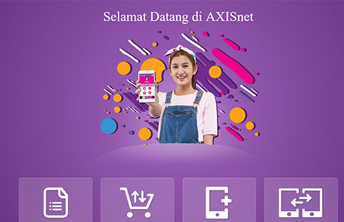 Cek Kuota Internet Axis Lewat Website
