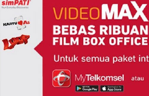 Fungsi Kuota Videomax Telkomsel & Cara Pakainya