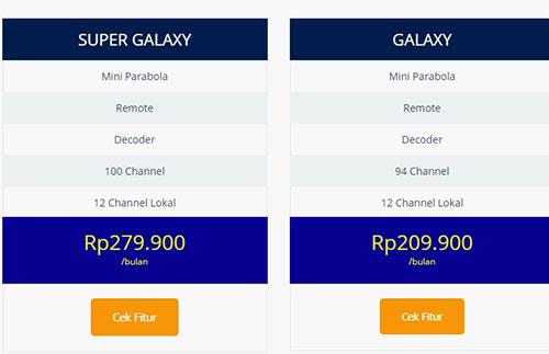 Harga Paket TV Kabel Indovision Terbaru