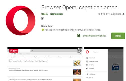Opera Broswer