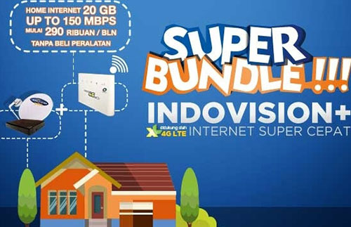 Paket TV Kabel dan Internet Indovision Unlimited Termurah