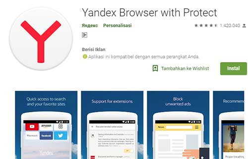 Yandex Broswer