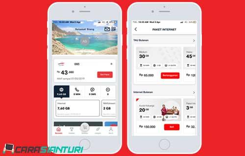 Beli Paket Internet Lewat Aplikasi My Telkomsel