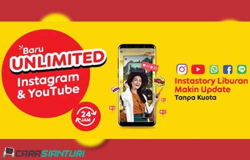 Paket Internet Indosat Unlimited Tanpa Kuota