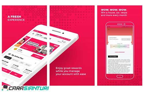 via Aplikasi Smartfren