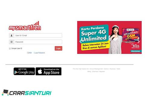 via Website Smartfren