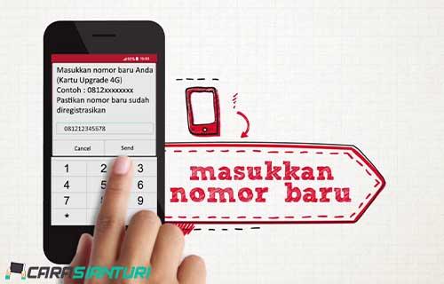 Upgrade Kartu Telkomsel Online