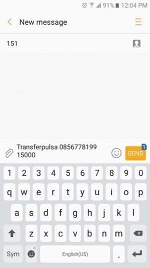 Cara Mengirim Pulsa Sesama Indosat Via SMS