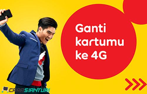 Cara Upgrade Kartu Indosat 3G ke 4G