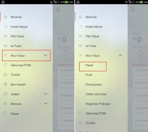 Cara Berhenti Paket Internet Telkomsel via MyTelkomsel