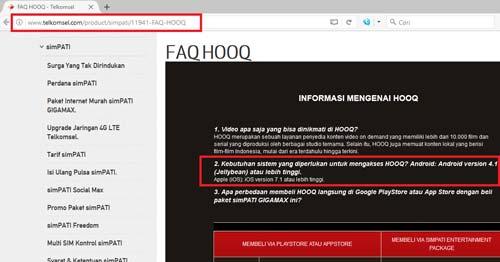Faq Hooq Telkomsel Indonesia