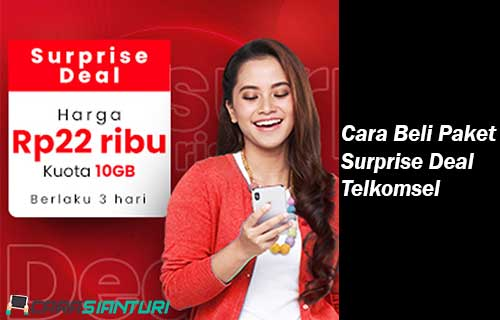 Cara Beli Paket Surprise Deal Telkomsel