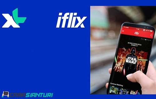 Cara Dapat Kuota iFlix XL