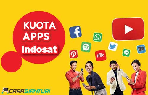 Cara Mengaktifkan Kuota Apps Indosat