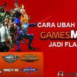 Cara Ubah Kuota GamesMAX