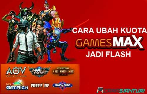 Cara Ubah Kuota Gamesmax Telkomsel Jadi Flash 2021 Carasianturi