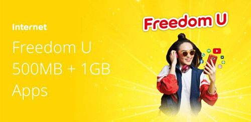 Freedom U 500MB