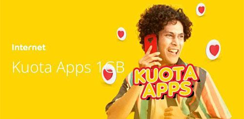 Kuota Apps 1GB