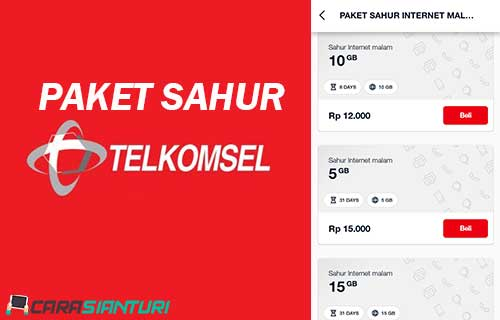 Paket Sahur Telkomsel