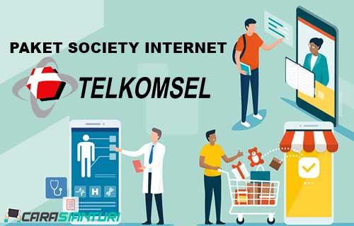 Paket Society Internet Telkomsel
