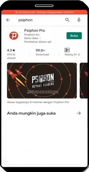 Unduh Psiphon Pro secara gratis