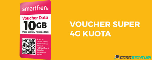 Voucher Smartfren Super 4G Kuota 10GB