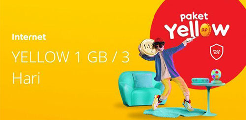 Yellow 1GB3 hari