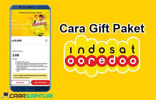 Cara Gift Paket Indosat