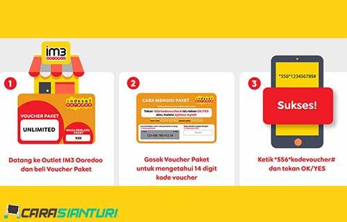 Cara Memasukkan Voucher Indosat via Dial