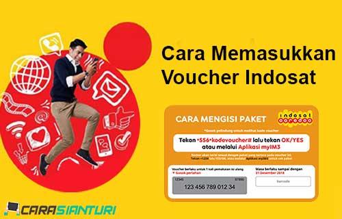 Cara Memasukkan Voucher Indosat
