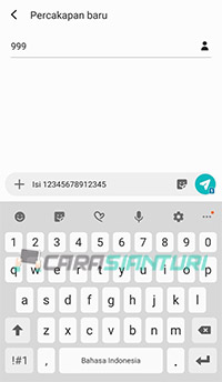Memasukkan Voucher Smartfren Via SMS