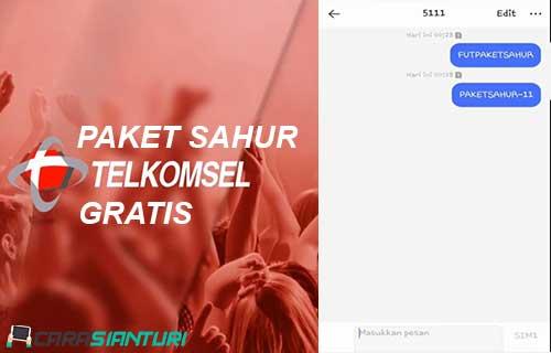 Paket Sahur Telkomsel Gratis
