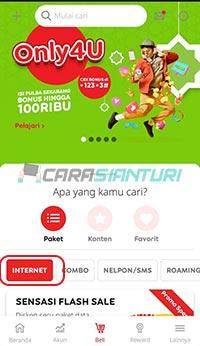 beli Gift Paket Indosat