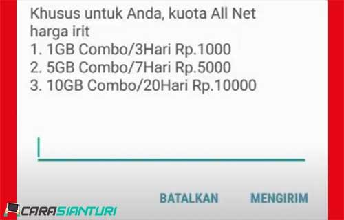 Cara Daftar Kuota All Net Telkomsel