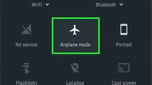 Hidup Matikan Mode Pesawat