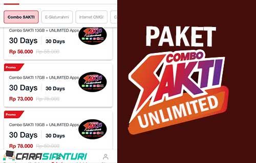 Paket Combo Sakti Unlimited
