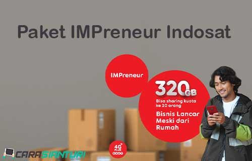 Paket IMPreneur Indosat