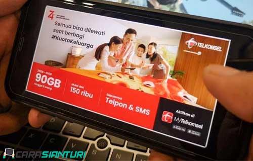 Paket Internet Keluarga Telkomsel