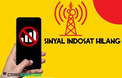 Sinyal Indosat Hilang