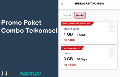 Promo Paket Combo Telkomsel