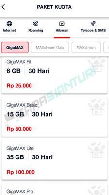 Cara Daftar Paket GigaMAX Telkomsel