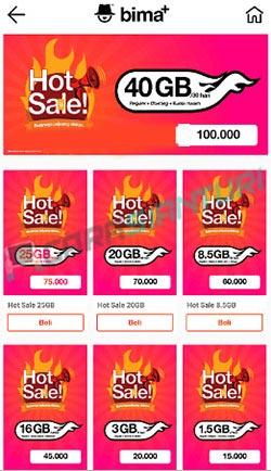Cara Daftar Paket Hot Sale Tri