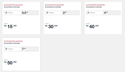 Cara Daftar Paket Kuota Ekstra Unlimited Telkomsel