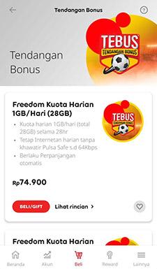 Cara Daftar Paket Tendangan Bonus Indosat