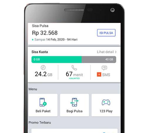 Gunakan Aplikasi MyXL