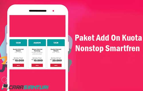 Paket Add On Kuota Nonstop Smartfren