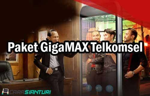 Paket GigaMAX Telkomsel