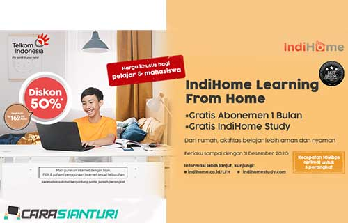 Paket IndiHome Learning From Home