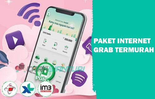 Paket Internet Grab XL Indosat Telkomsel Termurah